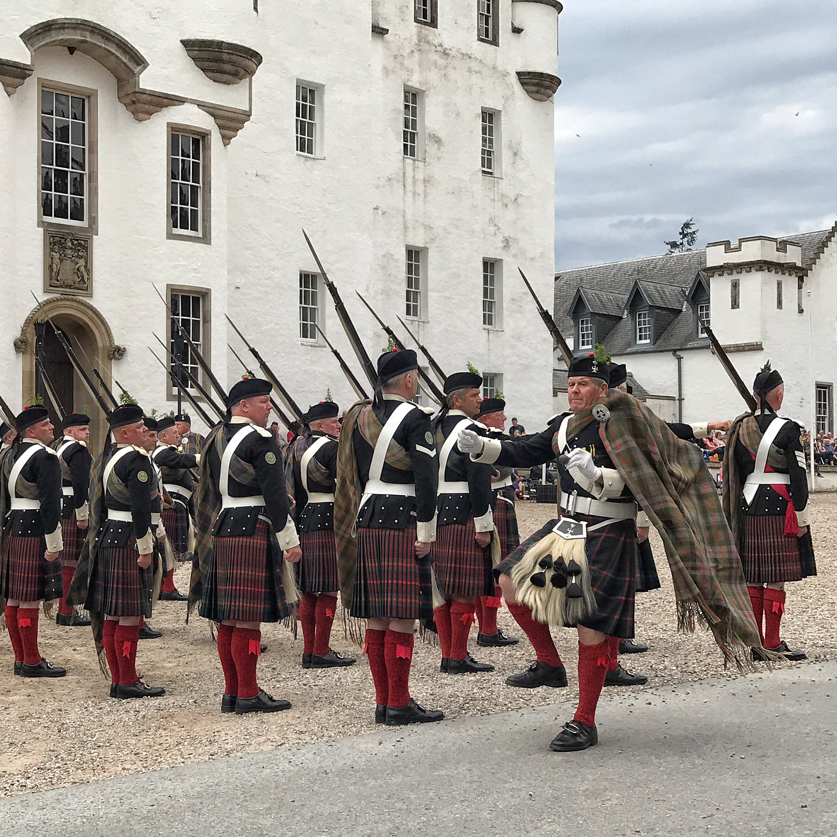 A Fun Day Out At Blair Castle To Watch The Atholl